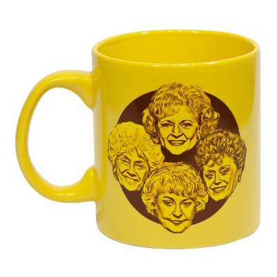 "Just Funky Golden Girls ""Stay Golden"" 20oz Coffee Mug"