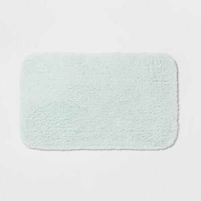 "20""x34"" Perfectly Soft Nylon Solid Bath Rug Mint Green - Opalhouse™"