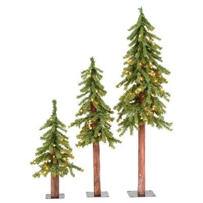 Vickerman Natural Alpine Artificial Christmas Tree
