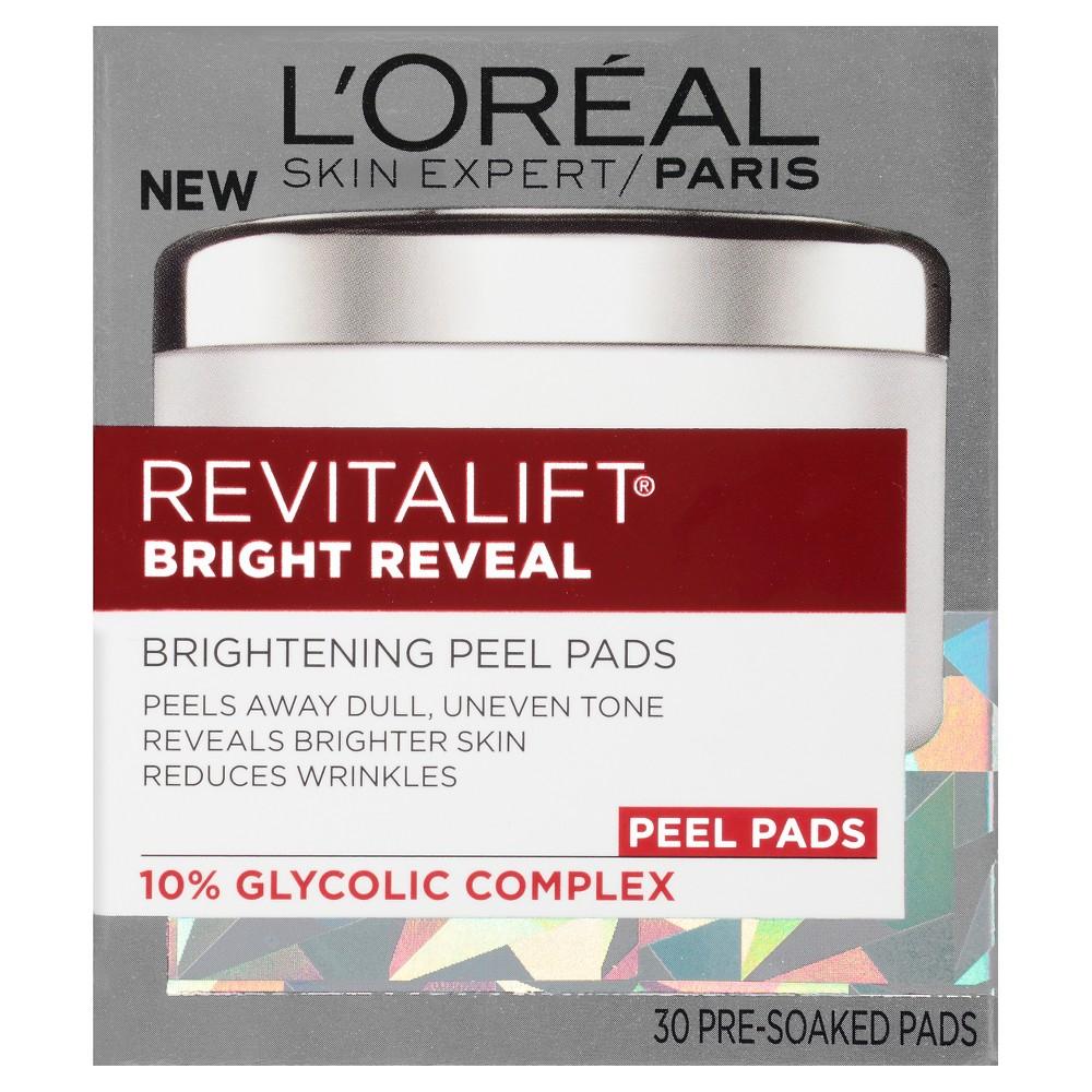 L'Oreal Paris Revitalift Bright Reveal Brightening Peel Pads 30ct