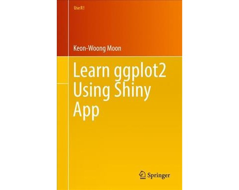 Learn Ggplot2 Using Shiny App -  (Use R!) by Keon-woong Moon (Paperback) - image 1 of 1
