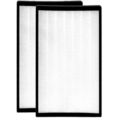 Medify Air MA-112 Indoor Home Air Purification System Medical Grade H13 HEPA Carbon Activated Replacement Air Filter Set (2 Pack)