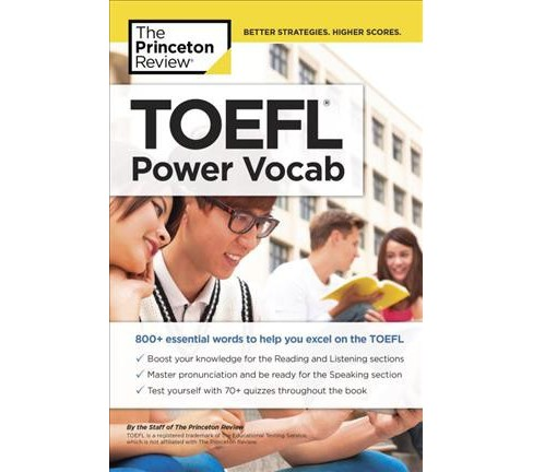 TOEFL Power Vocab (Paperback) - image 1 of 1