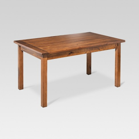 Farm 60 Quot Dining Table Honey Threshold Target