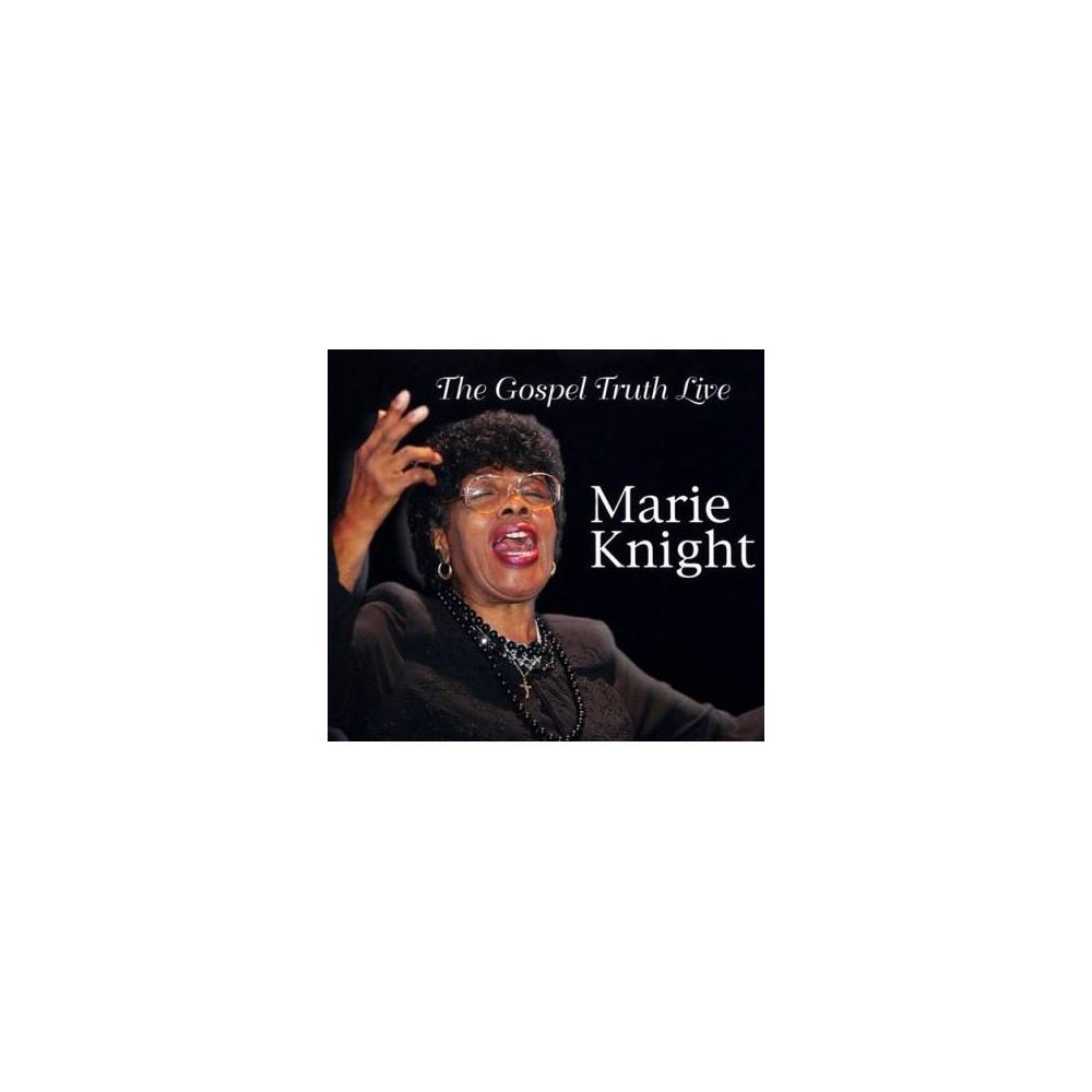 Marie Knight - Gospel Truth Live (CD)