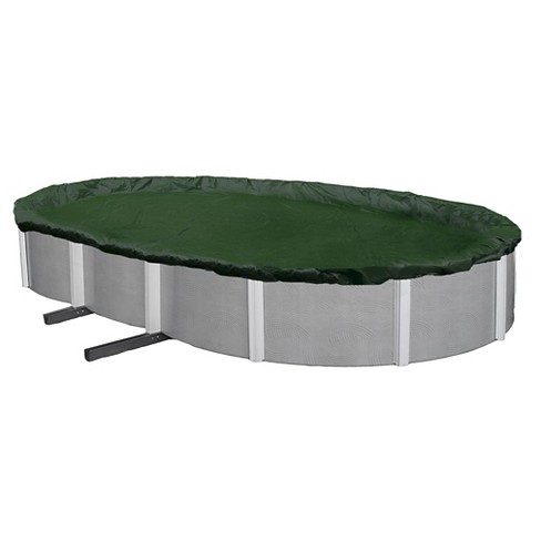 Blue Wave 12-Year Silver-Grade Oval Above Ground Pool Winter Cover - image 1 of 3