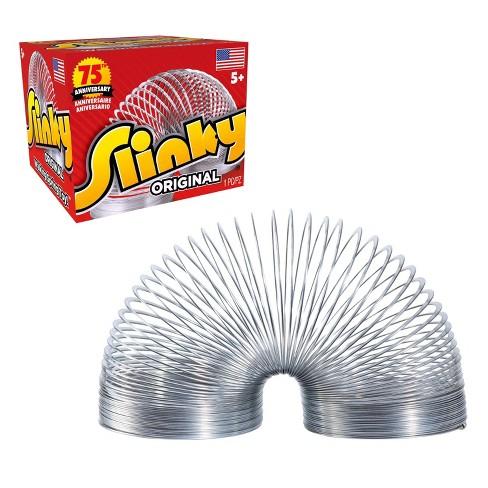 The Original Slinky Walking Spring Toy, Metal Slinky - image 1 of 4