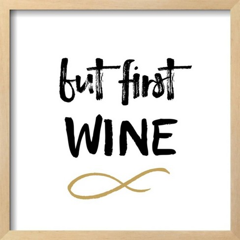 First Wine by Erin Clark Framed Giclee Print - Art.com - image 1 of 3