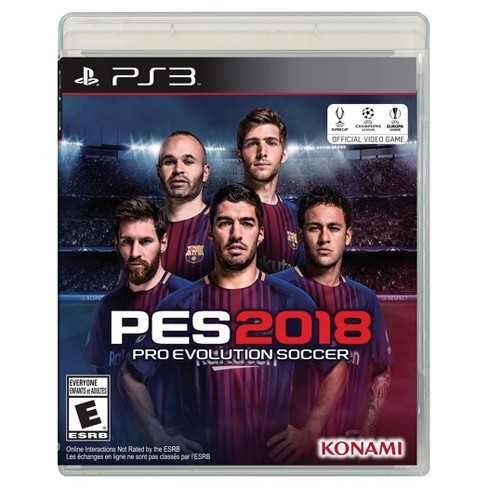 Pro Evolution Soccer 2018 - PlayStation 3 - image 1 of 6