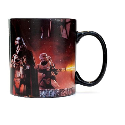 Star Wars The Force Awakens Kylo Ren and Stormtroopers 20oz Coffee Mug