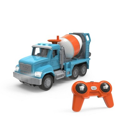 DRIVEN – Toy Cement Mixer Truck with Remote Control – Micro Series