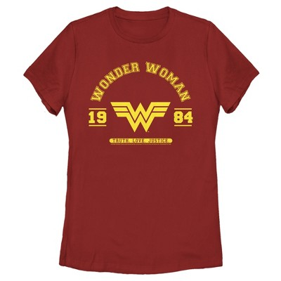 Women's Wonder Woman 1984 WW Collegiate T-Shirt