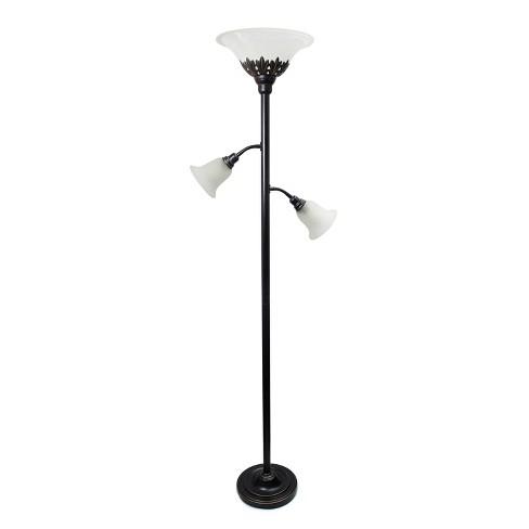 3 Light Restoration Floor Lamp With