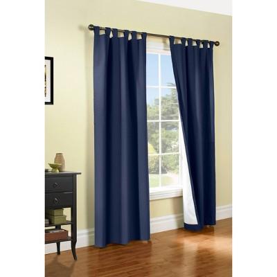 Set of 2 Weathermate Tab Top Room Darkening Curtain Panels - Thermalogic