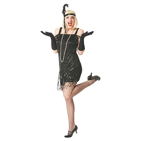 Women's Flapper Dress Plus Size Costume - image 1 of 1