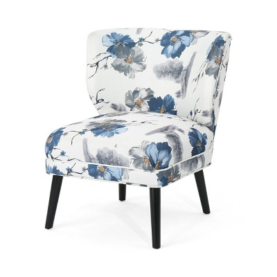 Laurier Modern Farmhouse Accent Chair Matte Black - Christopher Knight Home