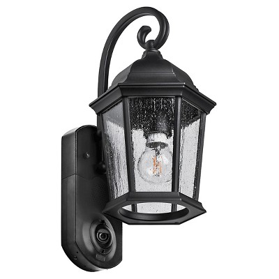 Coach Smart Security LED Outdoor Wall Light Black - Maximus