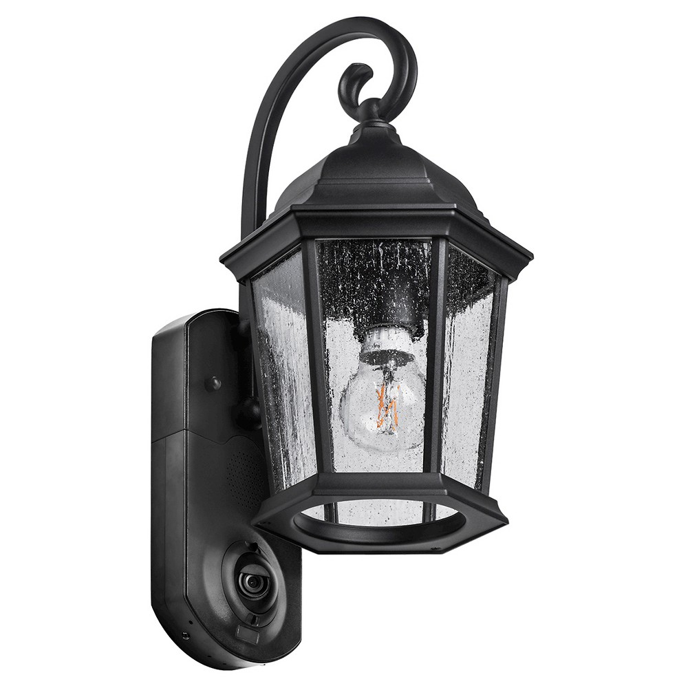 Image of Coach Smart Security LED Outdoor Wall Light Black - Maximus