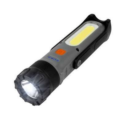 Wagan Brite-Nite Wayfinder LED Flash Light Black