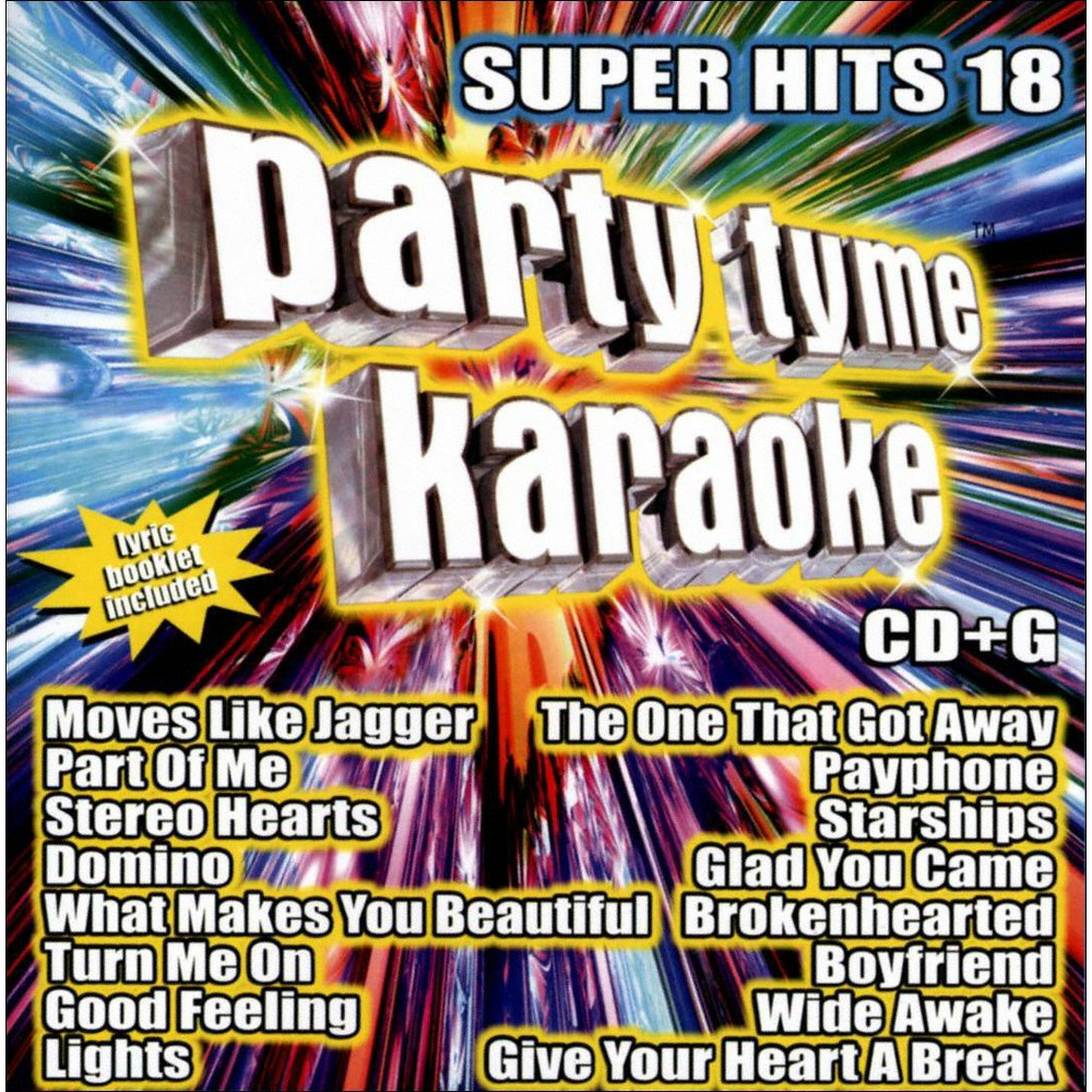 Karaoke - Party Tyme Karaoke: Super Hits Vol. 18 (CD) Discounts