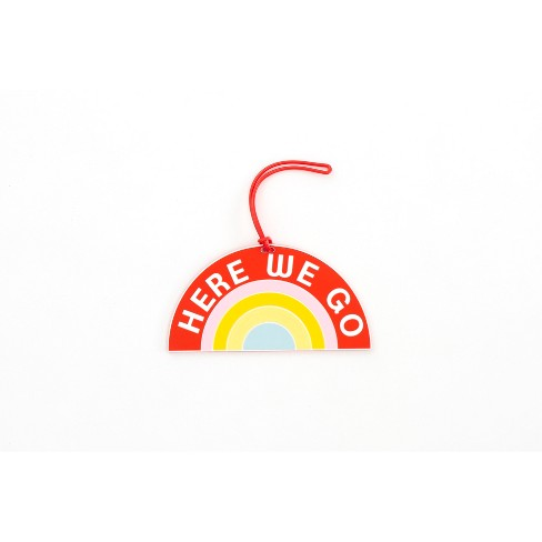 Path Here We Go Rainbow Luggage Tag - image 1 of 2