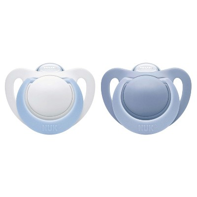 NUK Newborn Orthodontic Pacifiers 0-2 Months - 2pk