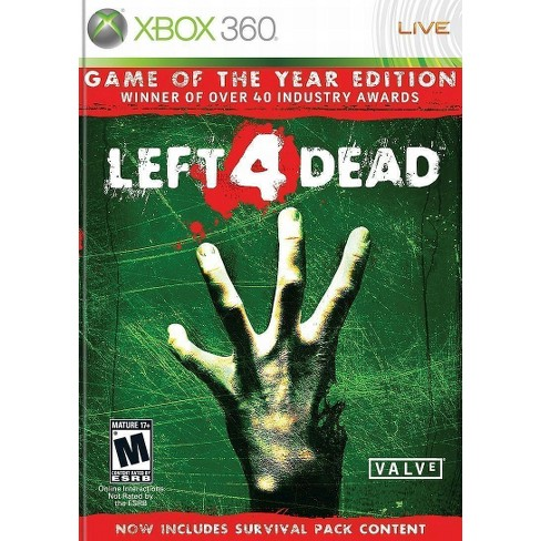 Left 4 Dead Game of the Year Edition Xbox 360 - image 1 of 4