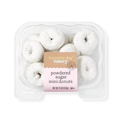 Powdered Sugar Mini Donuts - 11oz - Favorite Day™