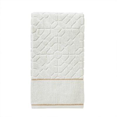 Vern Yip Bamboo Lattice Bath Towel Natural - SKL Home
