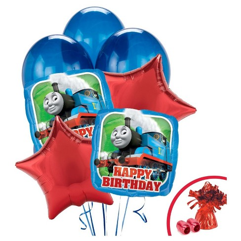 Thomas The Tank Engine Happy Birthday Balloon Bouquet Target