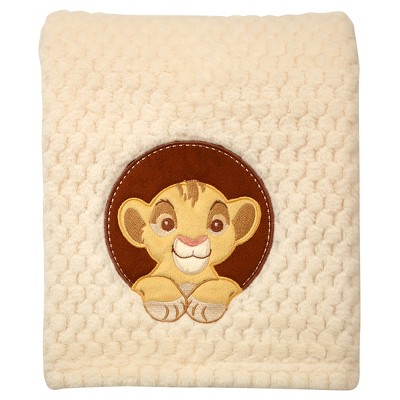 Disney© Appliqued Popcorn Fleece Blanket - Lion King