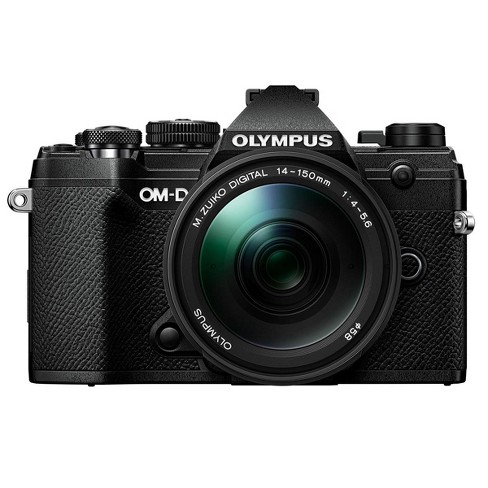 Olympus OM-D E-M5 Mark III Mirrorless Camera, with ED 14-150mm F4.0-5.6 II Lens, Black - image 1 of 4