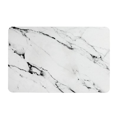Quick-Dry Diatomaceous Earth Bath Mat Marble - Slipx Solutions