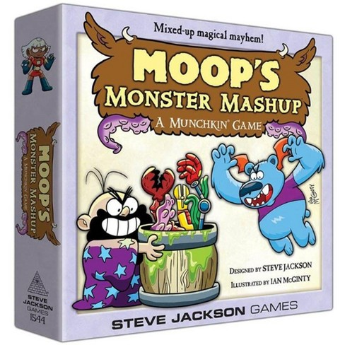 Moop's Monster Mashup Deluxe Board Game - image 1 of 1