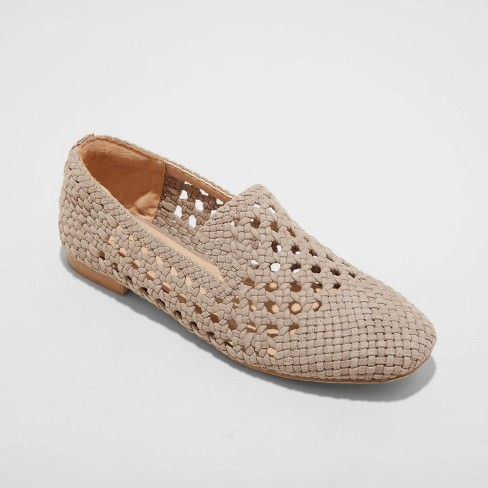 Women's Mallory Woven Loafers - A New Day™ - image 1 of 3
