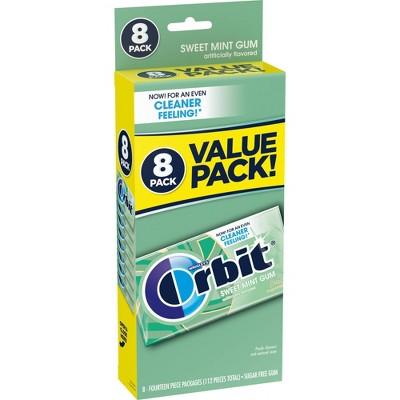 Orbit Sweet Mint Sugarfree Gum Value Pack - 112ct