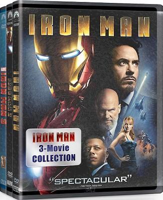 Iron Man: 3 Movie Collection [3 Discs]
