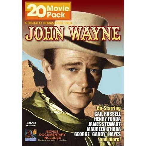 John Wayne 20 Movie Pack (DVD) - image 1 of 1