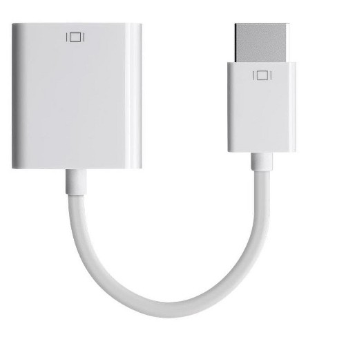 Monoprice DisplayPort 1 2a to VGA Active Adapter - White