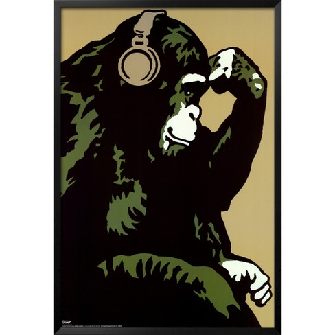 Art.com - Monkey Thinker - image 1 of 2