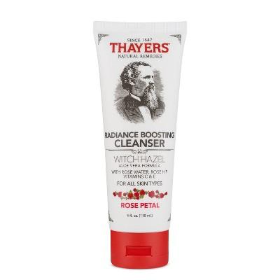 Thayers Rose Petal Witch Hazel Facial Cleanser - 4oz