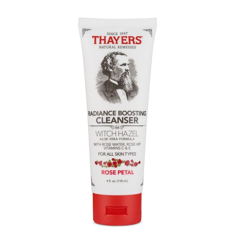 Thayers Rose Petal Witch Hazel Facial Cleanser 4oz