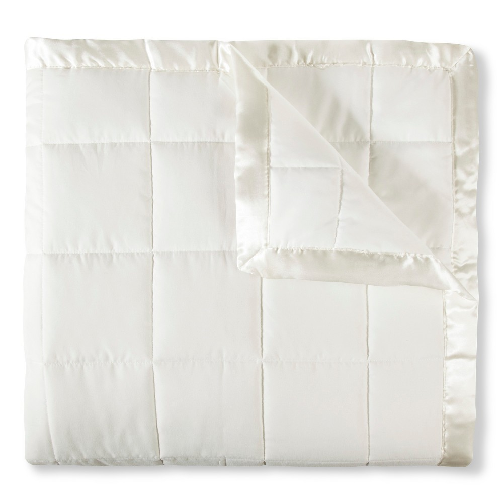 Image of Elite Home Down Alt Microfiber Blanket - Ivory (Twin)