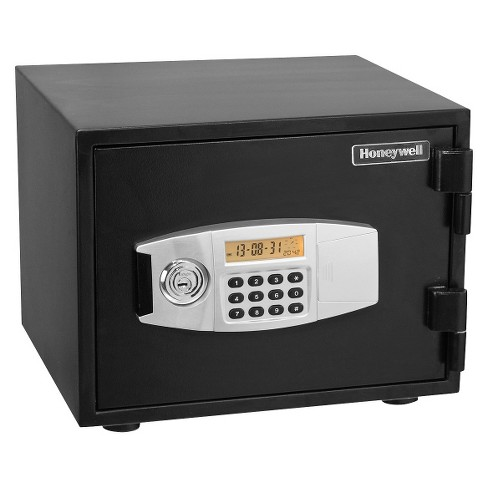 Honeywell Steel Fire Proof Security Safe - Black (2111) - image 1 of 3