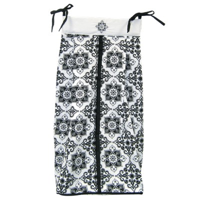 Versailles Diaper Stacker - Black & White