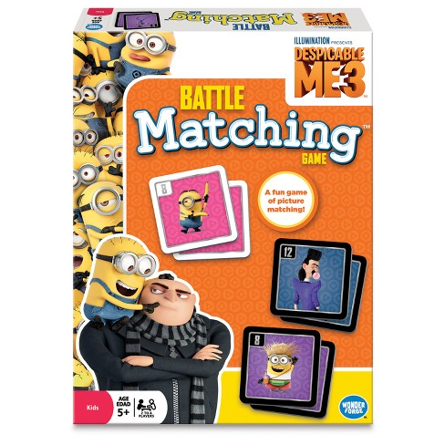 Despicable Me 3 Matching Game - image 1 of 2