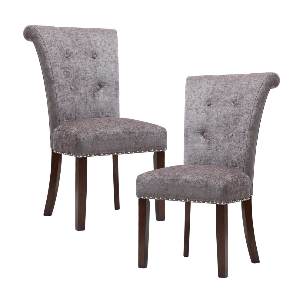 Lorsted Dining Chair Set of 2 Gray