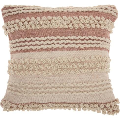 Nourison Life Styles Texture Stripes Throw Pillow - image 1 of 2