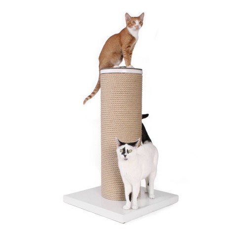 Hauspanther Max Cat Scratcher - White - image 1 of 4