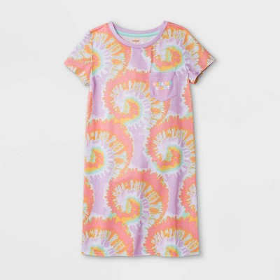 Girls' Tie-Dye Nightgown - Cat & Jack™